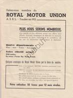 Aviation - Bierset-Liège - Grand Meeting International 1947 Bulletin (U319) - Other