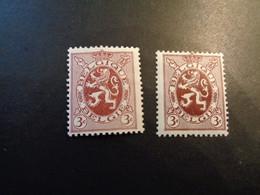 278 278a Xx MNH Kleuren - Couleurs - 1929-1937 Leone Araldico