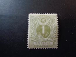 43 Xx MNH 1c Grijs - Gris Liggende Leeuw - Lion Couche - 1869-1888 Leone Coricato