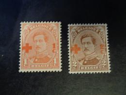 150-151 Xx MNH - 1918 Croce Rossa