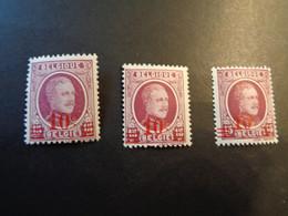 246 246a 246b ** MNH Kleuren - Couleurs Houyoux - 1922-1927 Houyoux