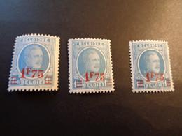248 248a 248c Kleuren - Couleurs Houyoux - 1922-1927 Houyoux
