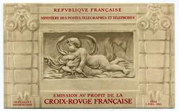 RC 21251 FRANCE COTE 550€ N° 2001 CARNET CROIX ROUGE DE 1952 NEUF ** MNH TB - Red Cross