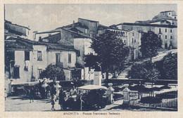 Campania  - Avellino - Andretta - Piazza Francesco Tedesco - F. Piccolo - Viagg - Molto Bella Animata Con Auto - Andere Steden