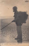 8977) DIEPPE - Type De FECHEUR - Fischer Mit Ausrüstung - VERY OLD - Fishing