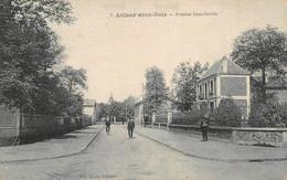 ¤¤   -  AULNAY-sous-BOIS   -  Lot De 2 Cartes  -  Avenue Jean-Jaures  -  Ecole Des Filles De La Rue De Sevran    -   ¤¤ - Aulnay Sous Bois