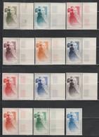 CITEX 1949 - SERIE COMPLETE 12 COULEURS** - Briefmarkenmessen