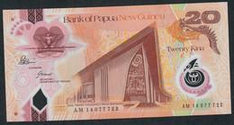 PAPUA NEW GUINEA P31c 20 KINA (20)14 2014 #AM 14   Signature 11  UNC. - Papua New Guinea