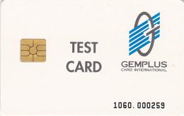 Denmark, GEM-DEN-T09, Telkor, Test Card Gemplus, 3 Scans.   Reduced Price - Dänemark
