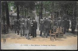 CPA 69 - Lyon, Place Bellecour - La Bourse Des Timbres - Andere
