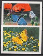 St Vincent - 1998 - Bloc Feuillet BF N°Mi. 446 Et 447 - Papillon / Butterfly - Neuf Luxe ** / MNH / Postfrisch - Butterflies