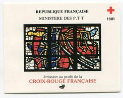 RC 21280 FRANCE COTE 9€ N° 2030 CARNET CROIX ROUGE DE 1981 NEUF ** MNH TB - Rotes Kreuz