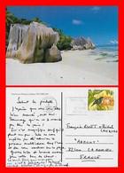 CPSM/gf  LA DIGUE (Seychelles)  Anse Source D'Argent...C996 - Seychelles