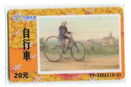 Télécarte China Tietong - Cycle - Sport