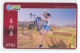 Télécarte CNC - Cycle - Sport