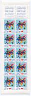 RC 21299 FRANCE COTE 15€ N° 2049 CARNET CROIX ROUGE DE 2000 NON PLIÉ SOUS LA VALEUR FACIALE NEUF ** MNH TB - Red Cross