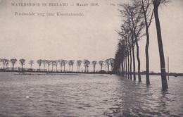4855108Kloosterzande, Provinciale Weg Naar Kloosterzande. Watersnood In Zeeland Maart 1906. - Andere