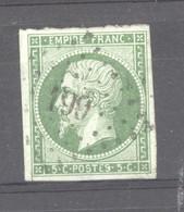 France  :  Yv  12  (o) - 1853-1860 Napoléon III