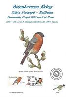 CS/HK - BUZIN  - Carte Souvenir Numérotée, Signée - 2020 -  Herdenkingskaart Genummerd, Getekend - Bouvreuil / Goudvink - Personalisierte Briefmarken