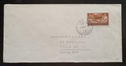 Liechtenstein 1937, Ausland Brief VADUZ Gelaufen PRAG - Covers & Documents