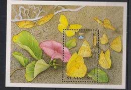 St Vincent - 1992 - Bloc Feuillet N°Mi. 212 - Papillon / Butterfly - Neuf Luxe ** / MNH / Postfrisch - Butterflies