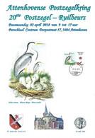 CS/HK - Carte Souvenir - 2018 -  Herdenkingskaart  - - Héron Cendré / Grijze Reiger / Graureiher / Gray Heron - Personalisierte Briefmarken