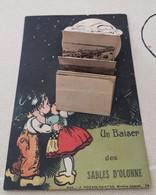 CARTE   A  Système  UN BAISER  DES  SABLES D OLONNE - Sables D'Olonne
