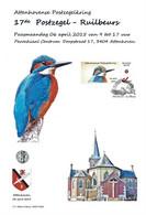 CS/HK - Carte Souvenir - 2015 -  Herdenkingskaart  - Martin Pêcheur / Ijsvogel / Eisvogel / Kingfisher - Personalisierte Briefmarken
