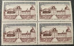N° 1128  Neuf ** Gomme D'Origine En Bloc De 4  TTB - Unused Stamps