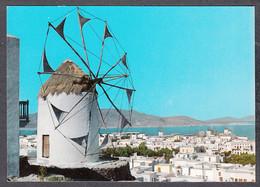 091111/ Mykonos Island, Wind Mill - Grecia