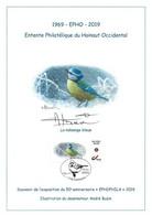 CS/HK - BUZIN - Carte Souvenir - 2019 - Herdenkingskaart - Mésange Bleue / Blauwe Mees / Blaumeise / Blue Tit - Personalisierte Briefmarken