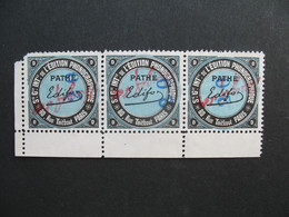 Lot Vignette - Label Stamp - Vignetta Aufkleber France Sté Gle édition Phonographique & Cinématographique Pathé - Music