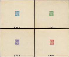FRANCE Poste EPL - 649/56, 8 épreuves De Luxe, Complet: Type Iris - Cote: 250 - Ongebruikt