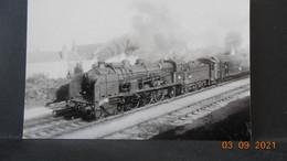 Photo De Format CP - Train 1946 à Mehun -sur-Yèvre - Trains
