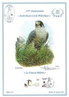 CS/HK - BUZIN - Carte Souvenir Numérotée, Signée - 2018 - Herdenkingskaart Genummerd, Getekend - Faucon Pèlerin - Personalisierte Briefmarken