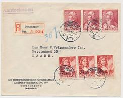 Em. Zomer 1940 Aangetekend Dordrecht - Baarn - Storia Postale