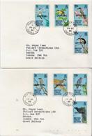 Postal History: British Virgin Islands Set On 5 Used FDCs - Sin Clasificación