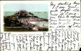 CPA Gorey Kanalinsel Jersey, Mont Orgueil Castle - Sonstige