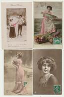 Lot De 36 Cartes Fantaisie - Homme - Femme - Enfant.... - 5 - 99 Postkaarten