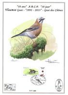 CS/HK - BUZIN - ABCP - Carte Souvenir Numérotée, Signée - 2013 - Herdenkingskaart Genummerd, Getekend - Geai Des Chênes - Personalisierte Briefmarken