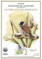 CS/HK - BUZIN - Carte Souvenir Numérotée, Signée - 2012 - Herdenkingskaart Genummerd, Getekend - Bruant Des Roseaux - Personalisierte Briefmarken