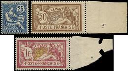 LEVANT FRANCAIS Poste * - 24/26, Signés - Cote: 805 - Unused Stamps