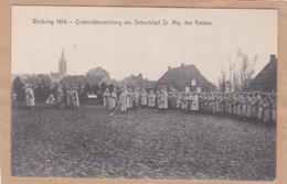 Weltkrieg 1914 Ordensüberreichung Am Geburtsfest Sr. Maj. Des Kaisers - War 1914-18