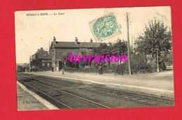 59 Nord   SOUS LE BOIS La Gare MAUBEUGE ? - Autres Communes