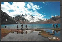 TAJIKISTAN POSTCARD , VIEW CARD CHAP DARA LAKE - Tadzjikistan