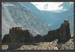 TAJIKISTAN POSTCARD , VIEW CARD HINDUKUSH MOUNTAINS - Tadzjikistan