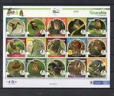 COLOMBIA, 2021 , BIRDS, BUTTERFLIES  S/S, MNH **NEW! - Sin Clasificación
