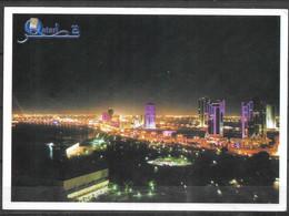 QATAR POSTCARD , VIEW CARD  DOHA CITY - Qatar