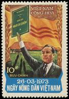 VIETNAM DU SUD Poste ** - 454A, Agriculture - Cote: 83 - Vietnam