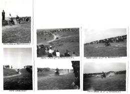 Anciennes Photos -   Moto Cross  Romainville 1947  - 9X6 Cm - Automobiles